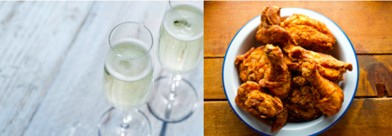 Champagne & Fried Chicken
